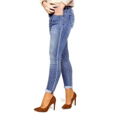 Jeans crop push up1