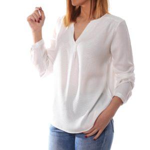 Blusa blanca textura