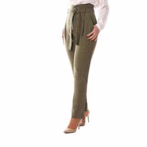 Pantalón lazada verde