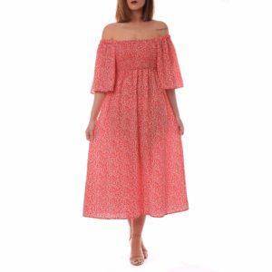 5cb3def22 Vestido mesonera rojo